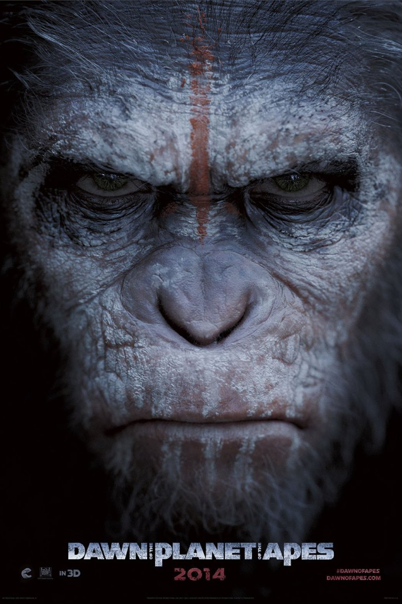 Dawn of the Planet of the Apes official poster movie truncatech