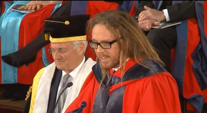 tim minchin graduation speech text